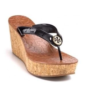 Tory Burch Thora cork wedge sandals